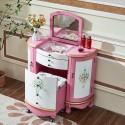Туалетный столик-комод Fleur chantante, Розовый купить в интернет-магазине