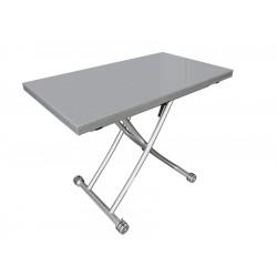 Стол обеденный трансформер B2219S-8, серый