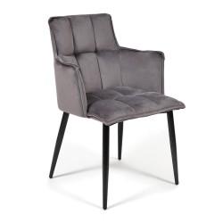 Кресло SASKIA (mod. 8283), серый