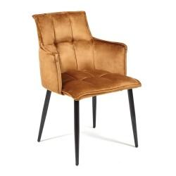 Кресло SASKIA (mod. 8283), коричневый