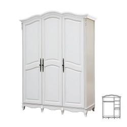Шкаф 3-х дверный F6683(S06)
