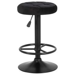 Барный стул LM-5008 черный, черная база