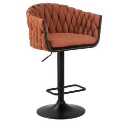 Барный стул LM-9690 оранжевый