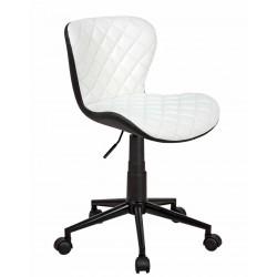 Полубарный стул БРЕНД WX-970 белый/черный