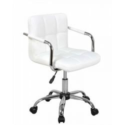 Полубарный стул АЛЛЕГРО WX-940 белый