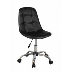 Полубарный стул КРЕЙГ WX-980 черный