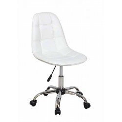 Полубарный стул КРЕЙГ WX-980 белый