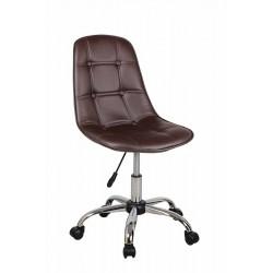Полубарный стул КРЕЙГ WX-980 коричневый