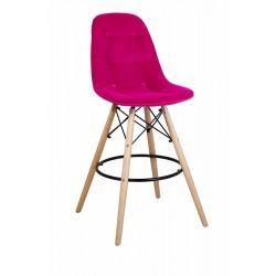 Барный стул ПАСКАЛЬ WX-2002V бордовый