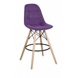 Барный стул ПАСКАЛЬ WX-2002V фиолетовый