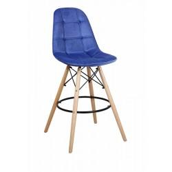 Барный стул ПАСКАЛЬ WX-2002V синий