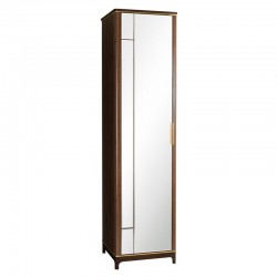 Шкаф 1-дверный с ЗЕРКАЛОМ (без полок) Модерн Гладстоун