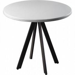 Стол Арки Topalit серебро R80