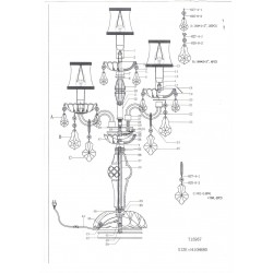 Настольная лампа Nativo Osgona 715957