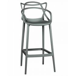 Барный стул LMZL-PP601C, серый