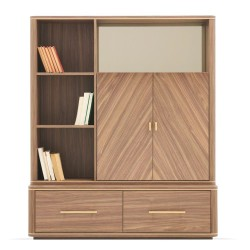 Книжный шкаф Module RAUM орех