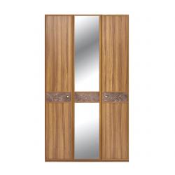 Шкаф 3-дверный DOLCE Enza Home орех