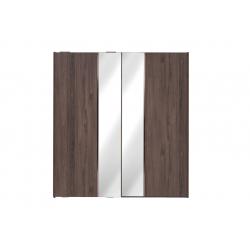 Шкаф-купе VALENTE Enza Home (210 см) орех