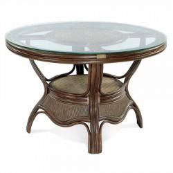 Стол обеденный SATURN, темно-коричневый