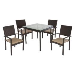 Комплект обеденныйHAMBURG (стол и4 стула)