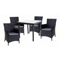 Комплект обеденныйMUNICH (стол и4 стула)