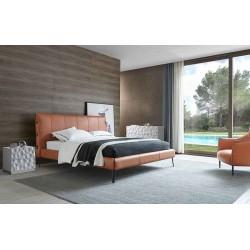Кровать GC1727 (160-200) коричневый