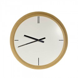 Часы настенные кварцевые NIO50 дуб