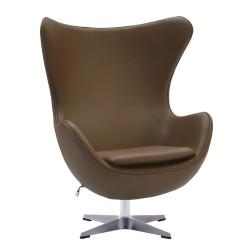 Кресло EGG CHAIR коричневый