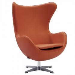 Кресло EGG CHAIR оранжевый